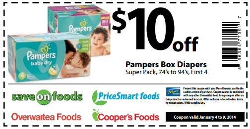 pampers swaddlers coupon code