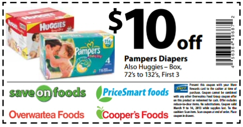 image relating to Printable Pampers Coupons named Pampers Discount codes Printable Diapers and foods coupon (1