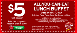 Free Pizza Hut Printable Coupons Printable Coupons Online