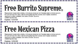Coupons For Free Fast Food 2015 - Printable Restaurant Coupons Fast Food Coupons - BeFrugal