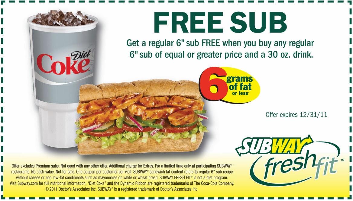 subway coupon codes usa and canada ongoing valid 1