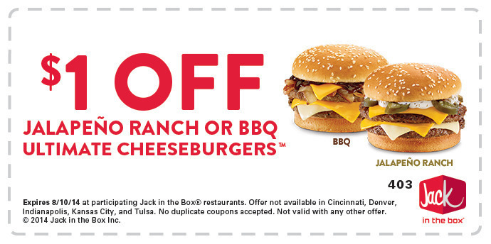 photo relating to Jack in the Box Printable Coupons identify $1 printable coupon upon a Buttery Jack within just the box Clic or