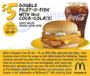 Mcdonalds free coupon sandwich coupon filt o fish burger and french
