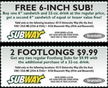 subway mobile coupon codes for menu items 6
