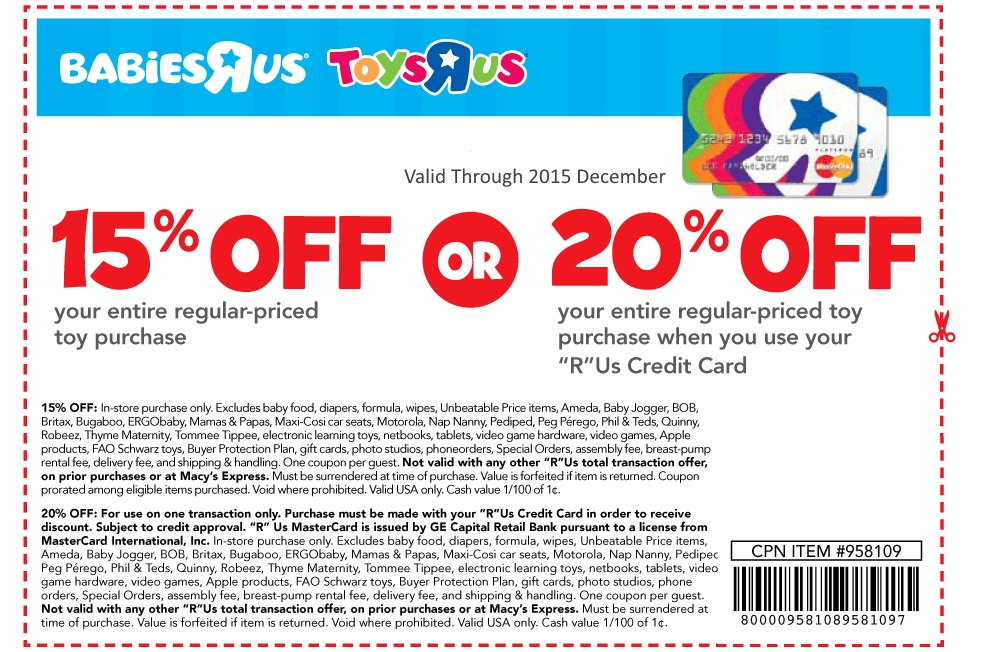 BabiesRUs Weekly Promo Codes & Sales