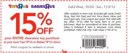This is a photo of Nerdy Baby R Us Printable Coupons
