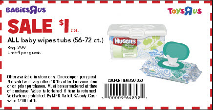 Huggies Baby Wipes Printable Coupon. Jan HOT! Huggies Baby Wipes ONLY $/Each!!! Posted on January 29th, by Printing Coupons Links in the post may contain affiliate links. Use 1 – $ off one Huggies wipes, ct Printable Coupon Final Price: $!