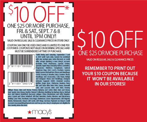 Home Goods Printable Coupons