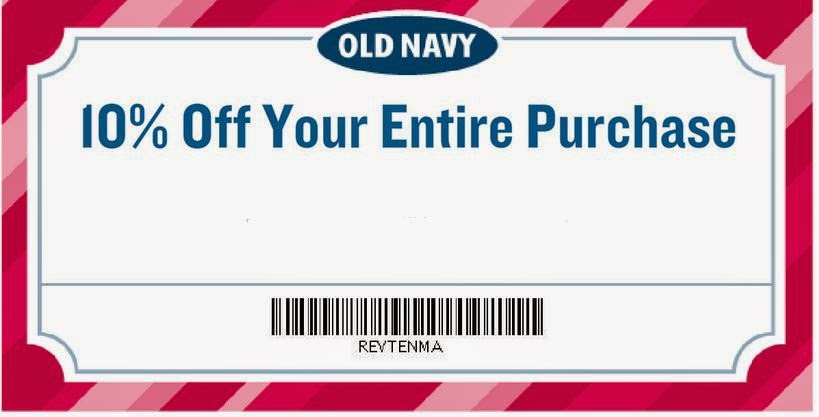 Old navy canada 40 discount coupons