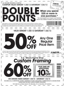 Michaels 60 percent off coupon