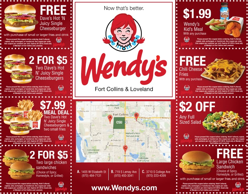 Current Fast Food Promotions