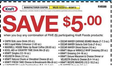 retail coupon examples printable and coedes 5