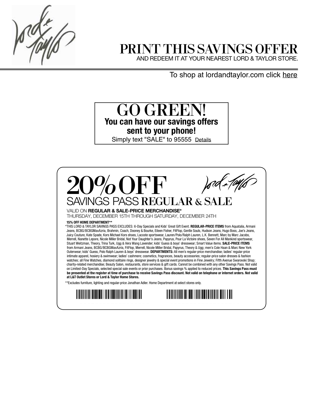 picture relating to Lord and Taylor Printable Coupon named Lord and taylor coupon code could possibly 2018 / Philadelphia eagles