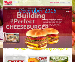 photo relating to Wendy's Printable Coupons referred to as Wendys discount codes 2018 printable - Wicked ticketmaster coupon code
