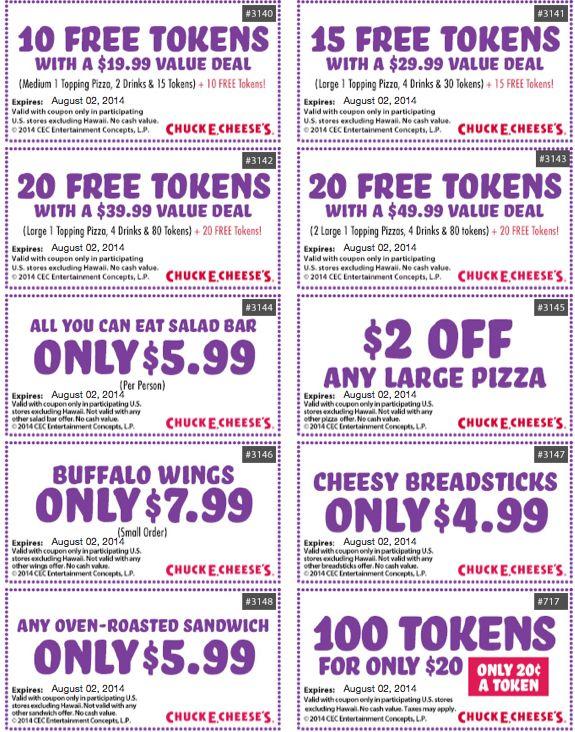 chuck e cheese printable coupons