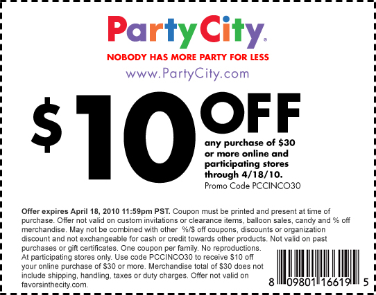 photograph about Party City Coupons Printable known as celebration town discount codes printable this thirty day period (2)