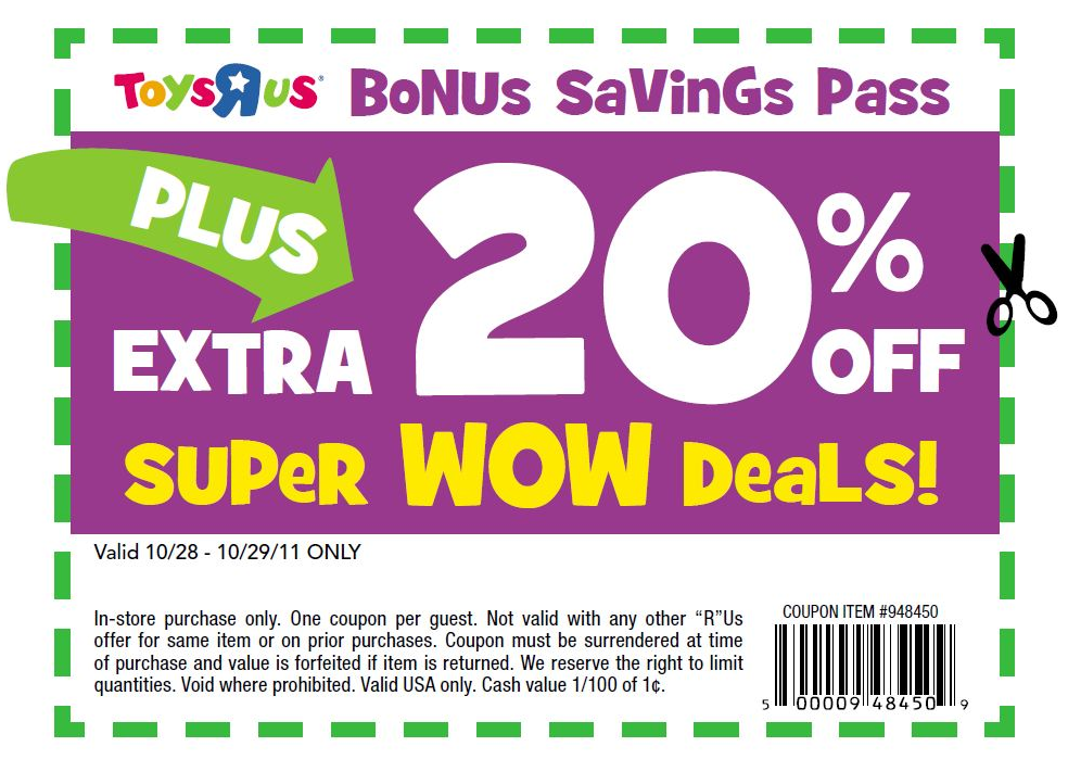 Toys r us online coupon codes