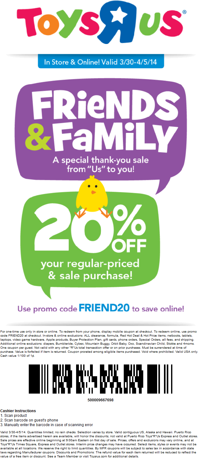 photograph about Toys R Us Coupons in Store Printable called Improve: Toys R Us Liquidation Product sales Only Begun (March 23rd)