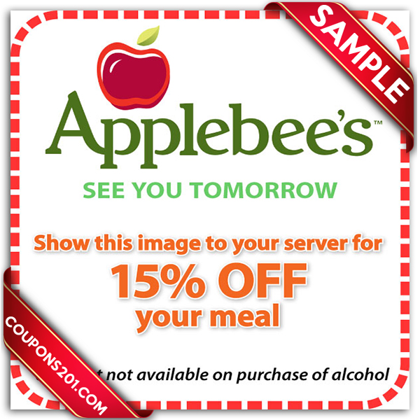 Coupons For Applebee S Restaurant