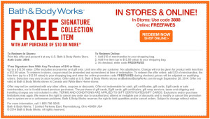 Bath And Body Works Coupons Codes Printable Vouchers (2)  Printable Vouchers