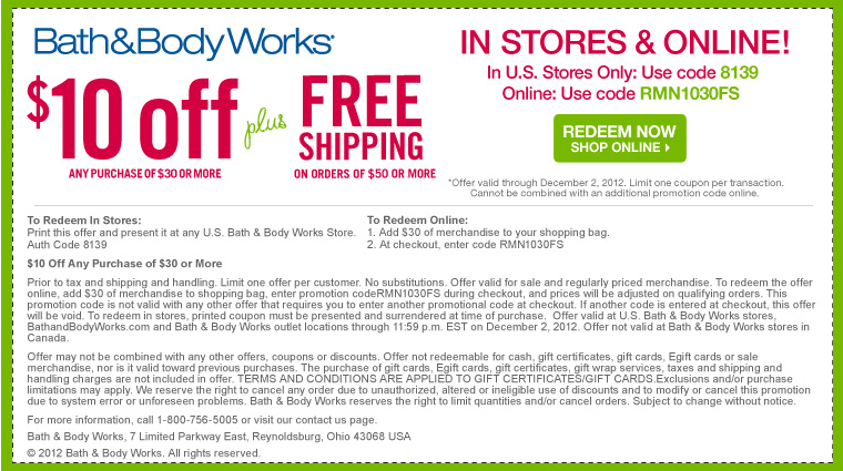 Find the latest Bath and Body Works promo codes, coupons & deals for December - plus earn % Cash Back at Ebates. Join now for a free $10 Welcome Bonus.