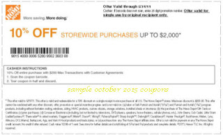Home Depot  Percent Off Coupon Code