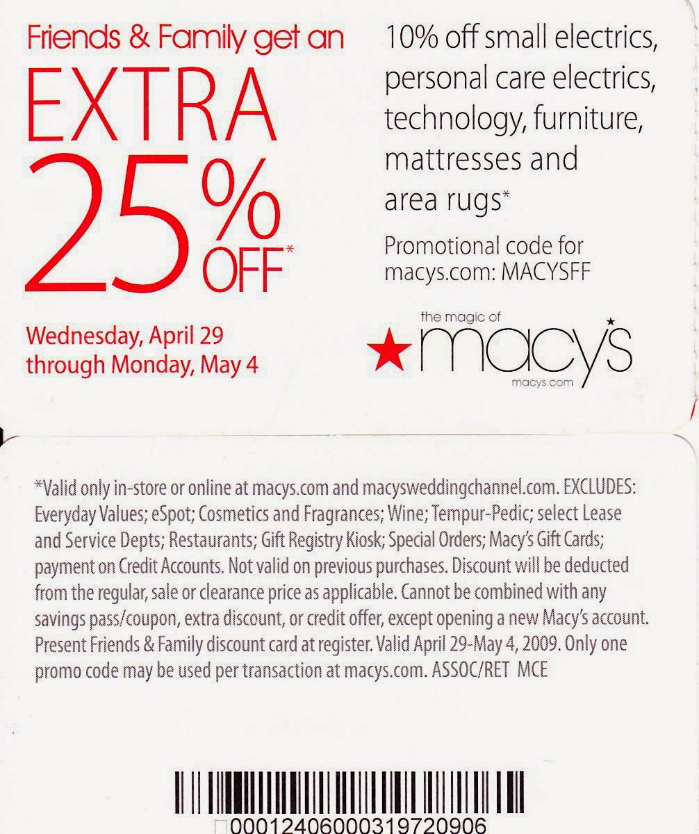 Macy's Coupons, Promo Codes & Sales | December To find the latest Macy's coupon codes and sales, just follow this link to the website to browse their current offerings. And while you're there, sign up for emails to get alerts about discounts and more, right in your inbox.