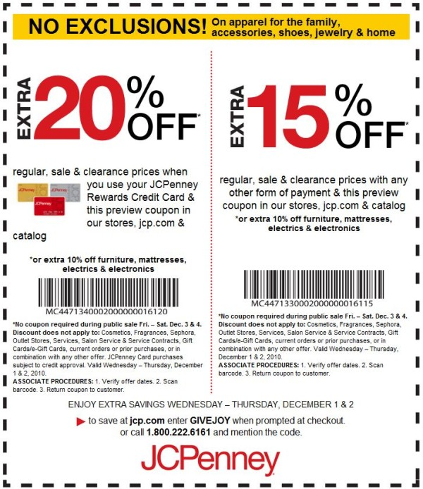 free coupons for retail stores