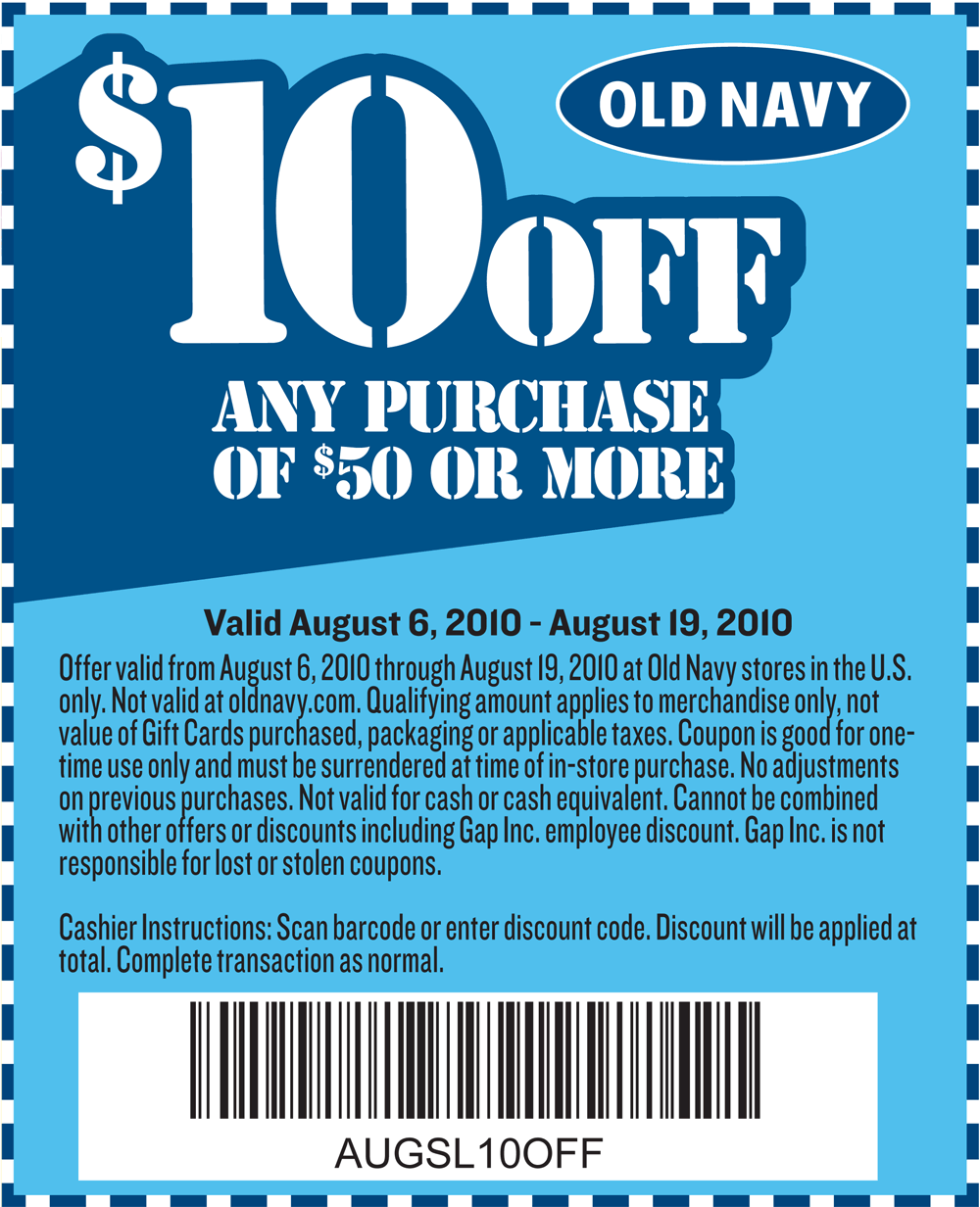 Old navy kids coupons