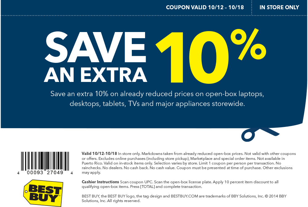Best buy discount coupons 2019