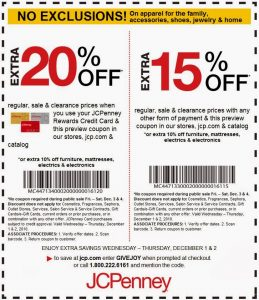 in-store-JCPenney coupons for photos