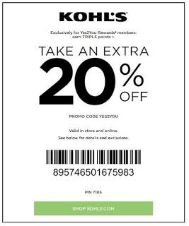 Kohls coupons july 2019