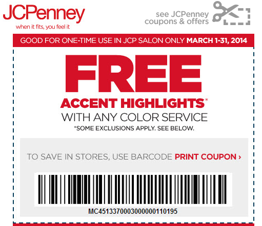 Print JCPenney Coupons For Photos