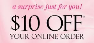 Victoria's Secret coupons-10-off
