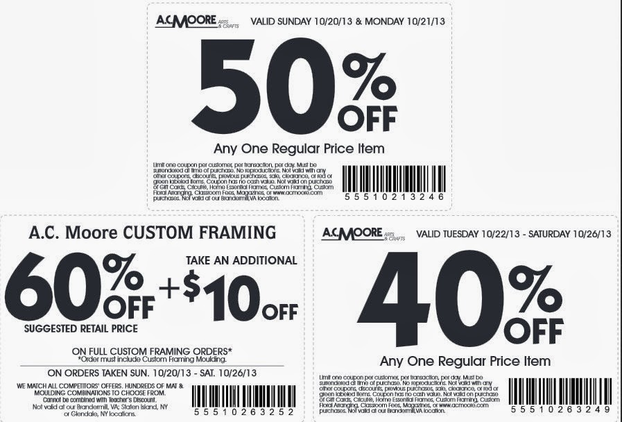 ac moore coupon