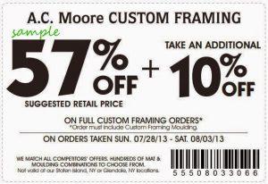 print-57 percent off ac moore coupon