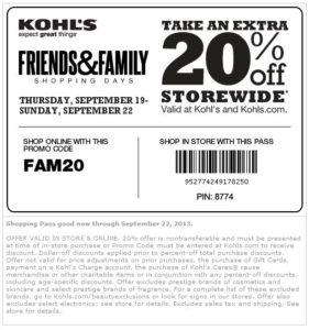 kohls-september-coupons
