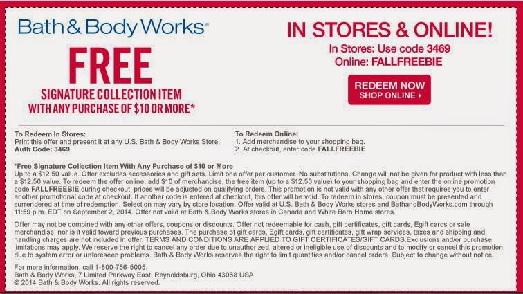 print-Bath and Body works