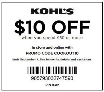 Kohls coats coupons