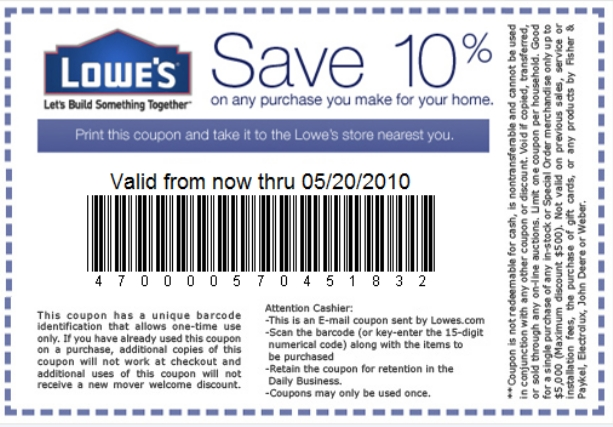 Lowes-Coupons