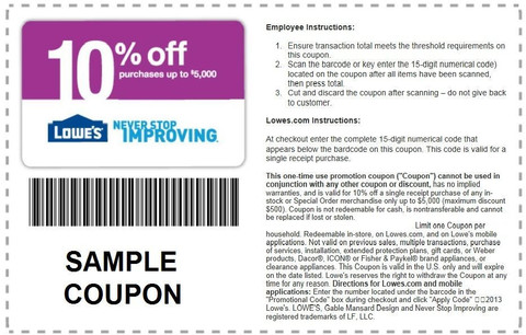 Today's top Lowes coupon: Up to 60% Off Cyber Deals. Get 28 coupons for