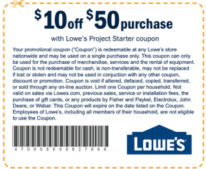lowes coupons save30 percent homegoods