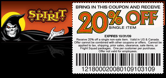 Spirit Halloween Printable Coupons Printable Coupons Online
