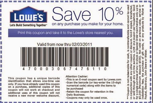 Lowes November Printable Coupons | Printable Coupons Online
