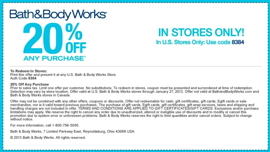 print bath and body works printable coupon