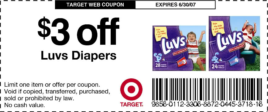 graphic about Printable Luvs Coupons titled 3-off-pampers-discount coupons-5-off-printable Printable Coupon codes On the net
