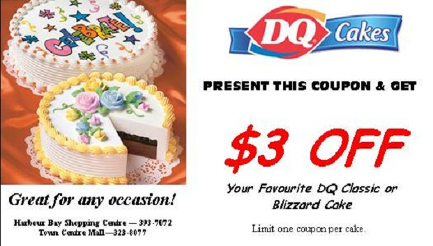 Dairy queen coupons 2019