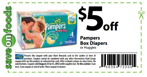 Pampers Bonus Codes