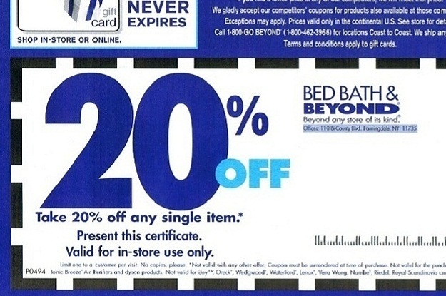 Coupon code bed bath and beyond