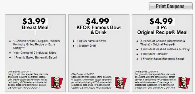 image regarding Kfc Coupon Printable titled kfc-coupon Printable Discount coupons On the net